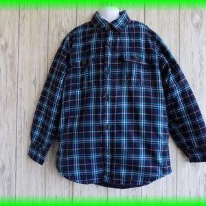 Gap Boys  Button Down  Shirt Jacket  Size 10 -11
